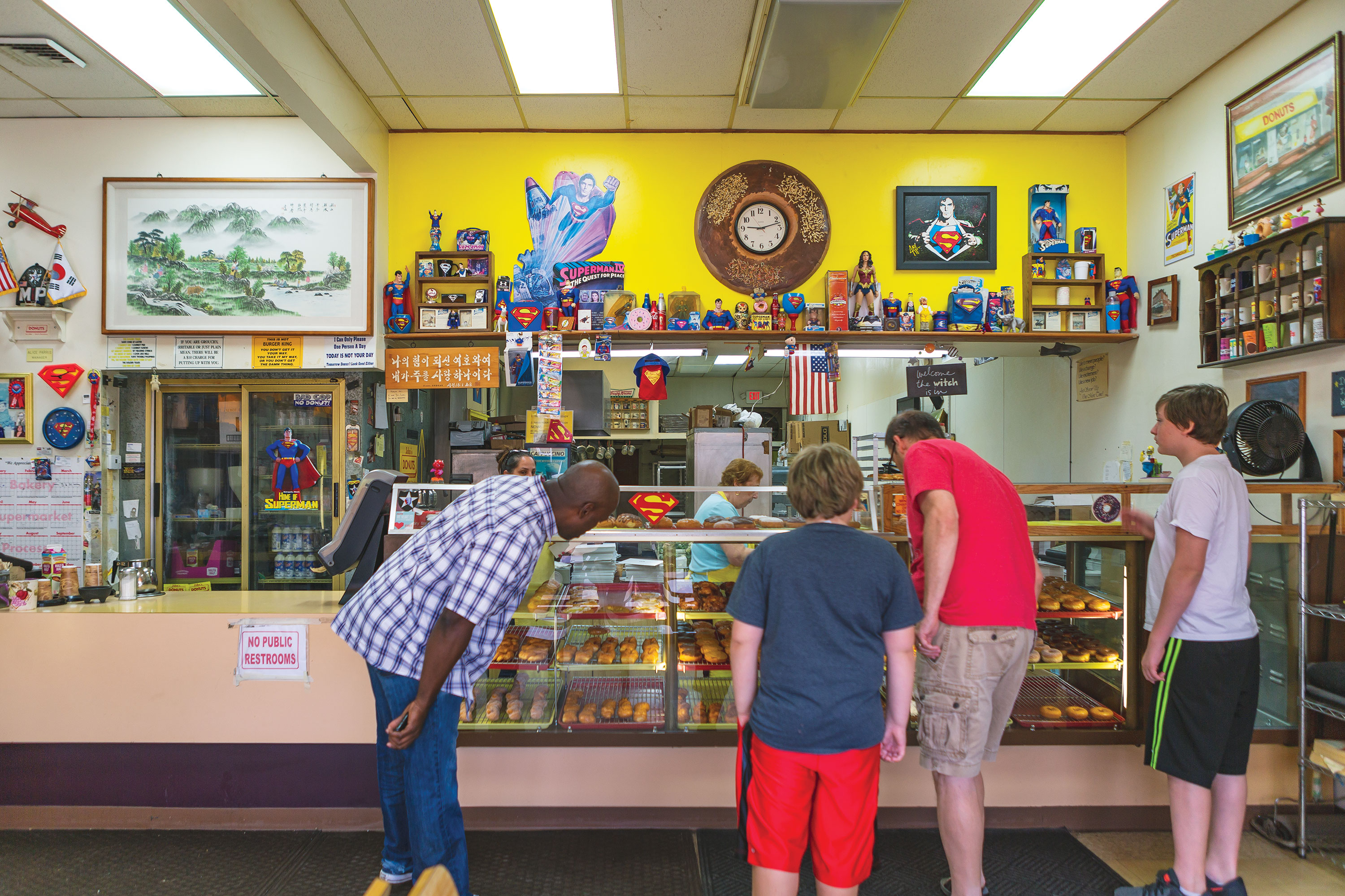 Need a late night doughnut? Try Soulard staple John's Donuts.(Photo by Kevin A. Roberts)
