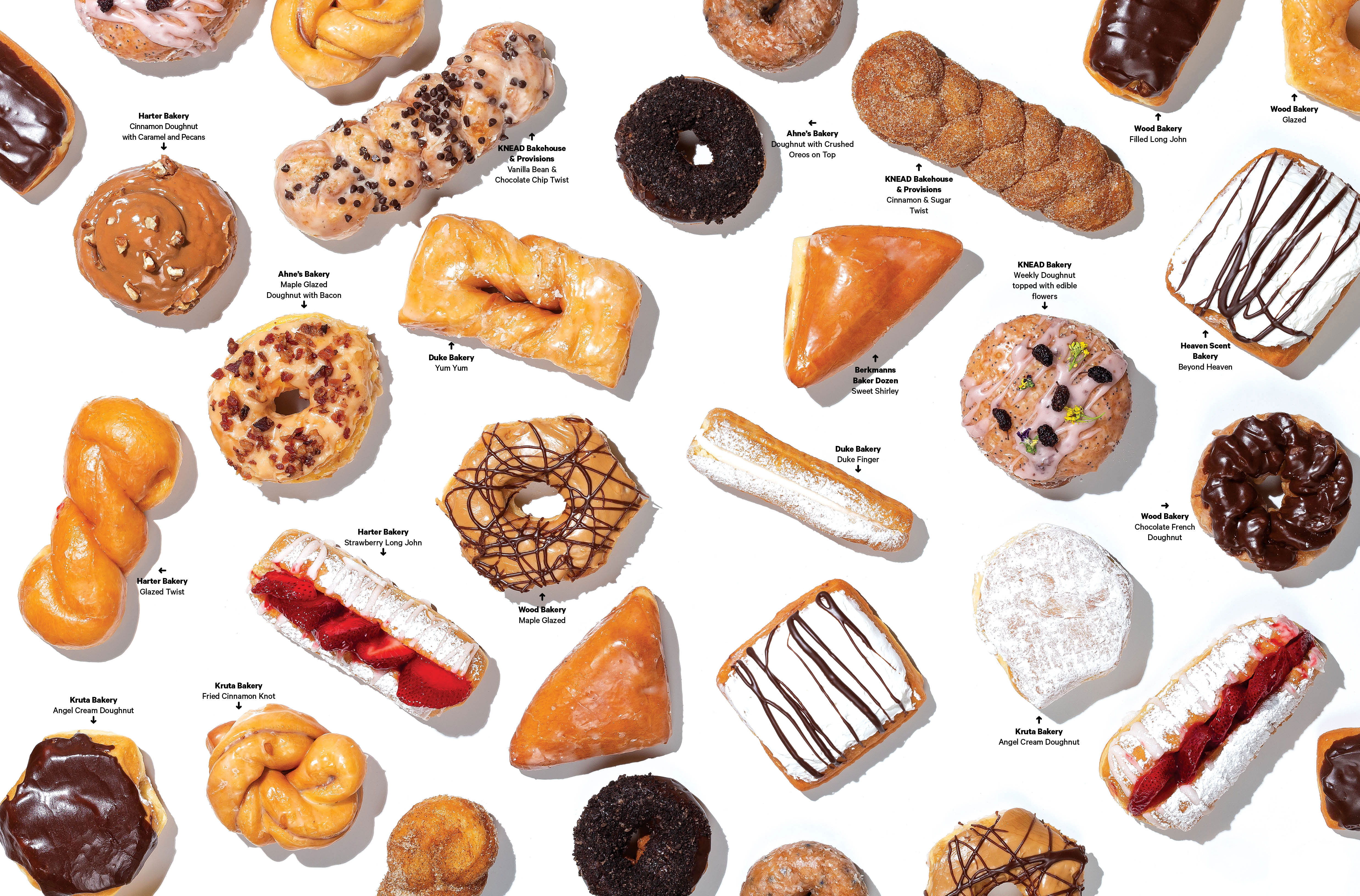 These St. Louis bakeries also offer standout doughnuts. (Photo by Kevin A. Roberts)
